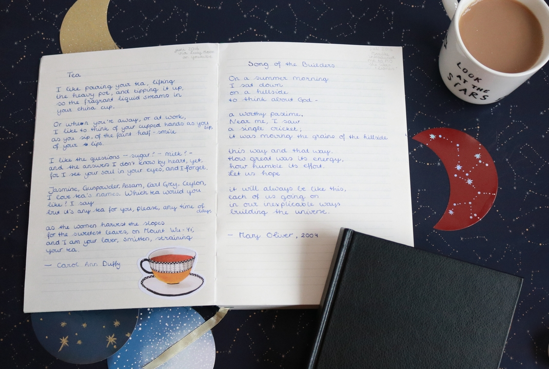 notebook poetry 2