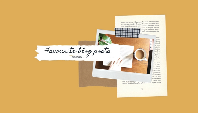 Fave blog posts oct